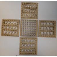 14cm ASSORTED 10pack  PELLET CATCHER REACTIVE TARGET INSERTS to fit 14cm Pellet Catchers