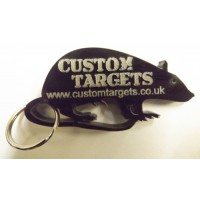 Custom Targets BLACK RAT acrylic KEY RING