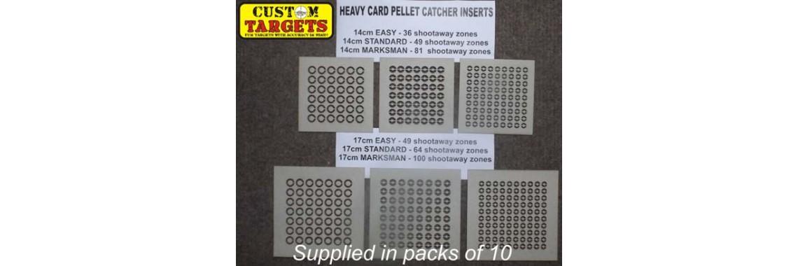 card pellet catcher inserts