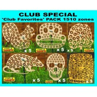 Club Special '30 CLUB FAVORITES'  Reactive Target Pack 1510 zones