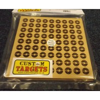 6pack of 17cm Reactive Target Inserts for 17cm Pellet catchers