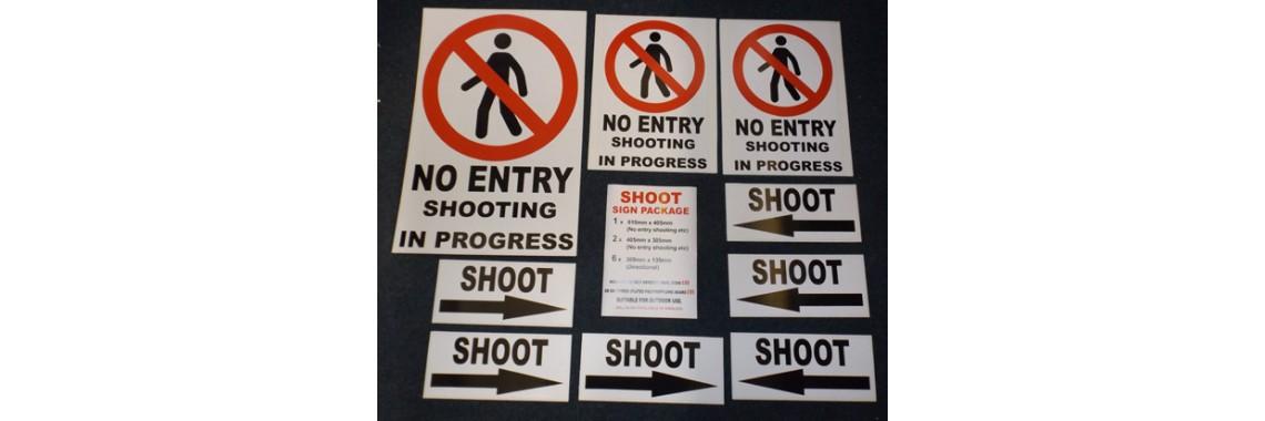 Shoot signs