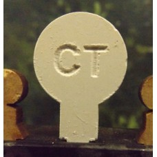 20mm Chalk Target Pins (50)