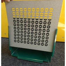 CARD 10 pack REACTIVE 17cm PELLET CATCHER TARGET INSERTS