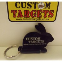 Custom Targets Black Rabbit Keyring