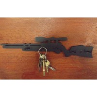 RIFLE KEY RACK