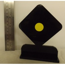GEOMETRIC DIAMOND SHOOTING TROPHY by Custom Targets