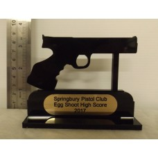 PISTOL TROPHY Shooting Award